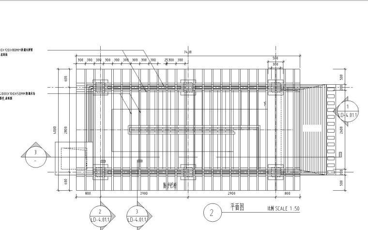 特色车库钢结构廊架设计详图