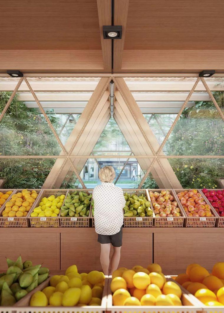 拥有独立生态系统的大楼-城市中的垂直农场_22