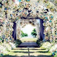 来看看绝美的森系婚礼景观丨美妞们都收好了!