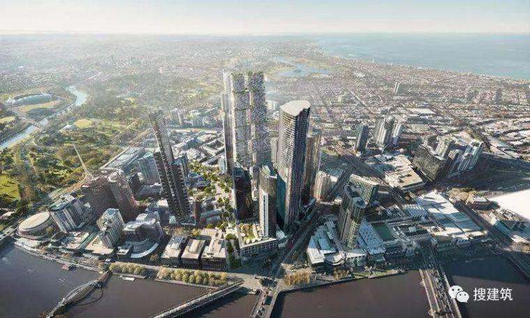 六个摩天楼方案