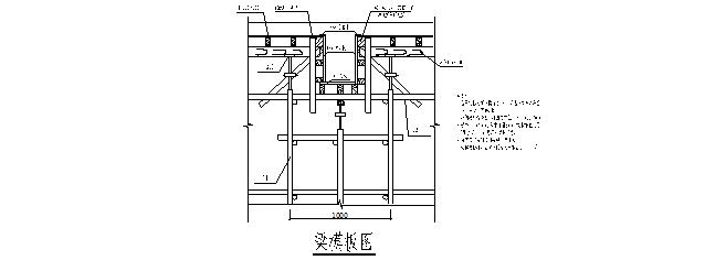步步高花园住宅小区楼模板内支撑体系脚手架施工方案