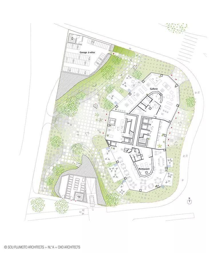 """藤本壮介设计的像树一样的公寓楼建成了,每户都有""""空中花园""""_7"""