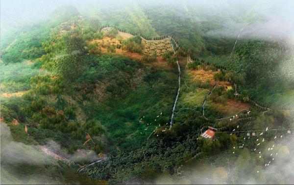 """[重庆]""""空谷幽兰""""半山佛教景区景观规划设计方案"""