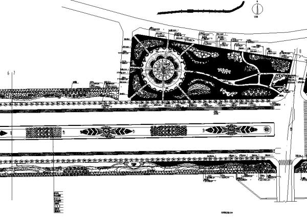 园林城市道路景观绿化CAD平面图198套