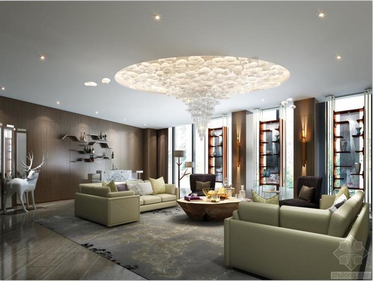 室内设计家装工装施工图及设计方案精品汇总_7
