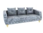 灰色舒适沙发3D模型下载