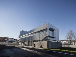 西班牙工厂区Ibenergi全新的综合建筑