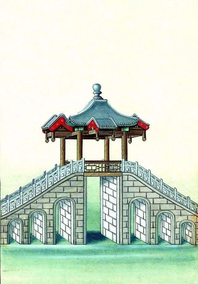 另一个视角:外国人画笔下的中式古典建筑_11