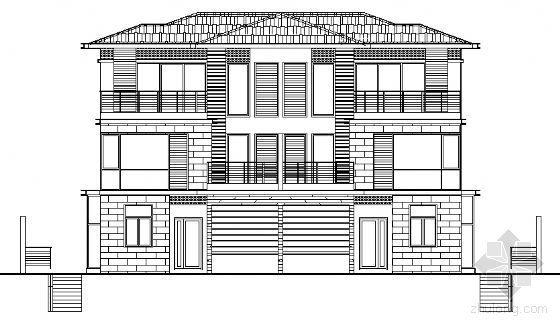 丹堤A区9、10、20号楼建筑施工图