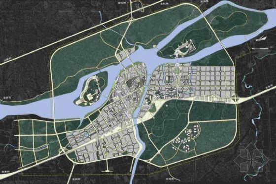 浙江龙游城市总体设计方案