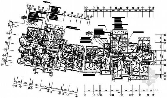 [大丰]某二十六层住宅楼完整电气施工图纸