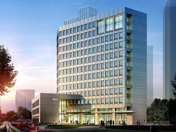 某十五层科教综合楼建筑设计方案文本