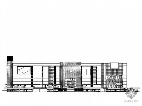 [深圳]某物流基地七层仓储大楼建筑施工图