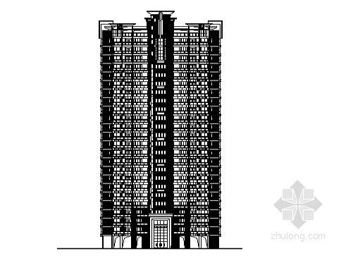 [东莞市]某镇社区农民公寓8号楼建筑施工图
