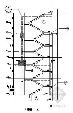 钢楼梯画法大样图