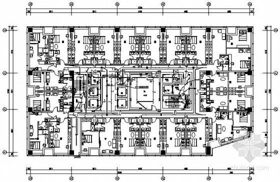 [沈阳]高层商住两用楼强电系统施工图纸