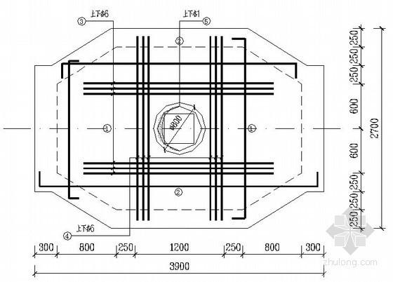 [西安]某电力管沟施工图纸