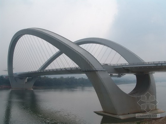 [PPT]大跨径曲线梁非对称外倾拱桥创优汇报材料