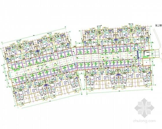 [山东]低层住宅楼及地下车库全套电气施工图纸138张(3栋)