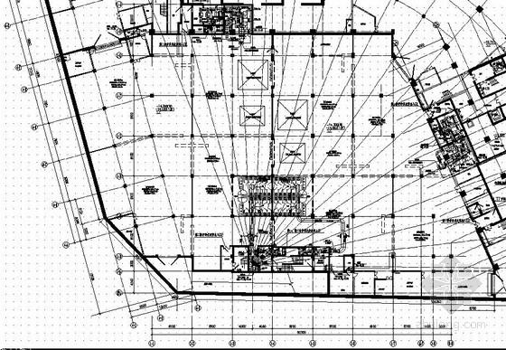 [天津]大厦地下人防设计图纸