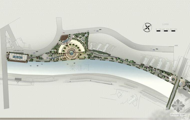 南京某滨河景观设计文本