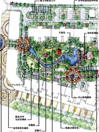 [石家庄]居住区景观初步概念设计方案