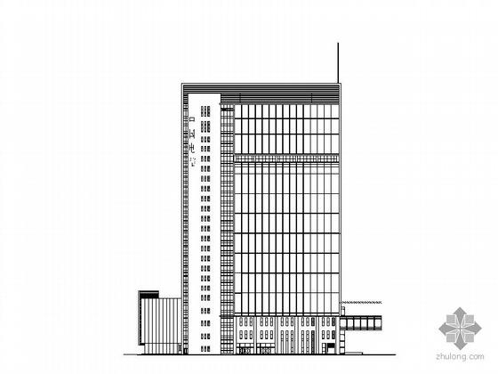 [温州]电信某二十三层综合大楼建筑施工图