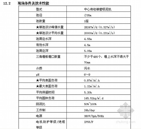 广西某污水处理厂设备采购招标文件(2010-12)