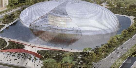 [北京]大剧院壳体钢结构安装施工方案