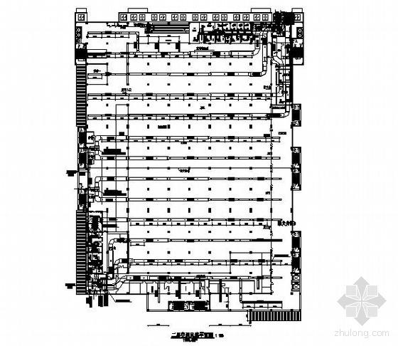 某大型商场空调设计方案图