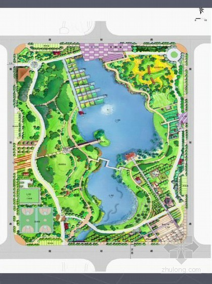 [佛山]乡镇居住区附属公园景观设计方案