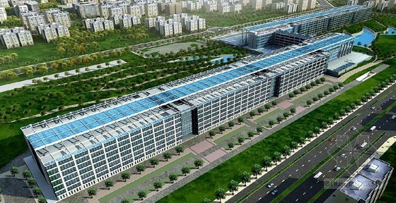 [上海]生产基地办公楼施工组织设计(清水混凝土)
