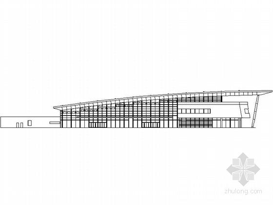 [广东]某汽车客运站方案设计图(含效果图)