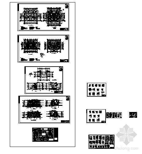 丹堤A区24、26、27号楼建筑施工图-4