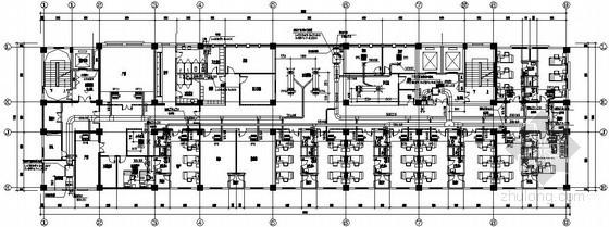 [沭阳]医院综合楼通风空调施工图