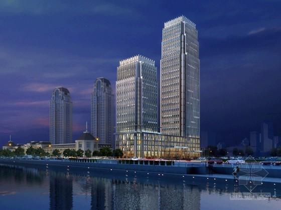 [天津]某商业中心建筑外立面设计文本
