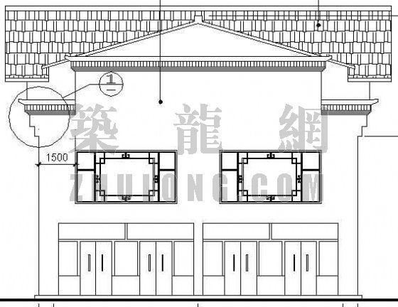 某沿河商业楼建筑设计方案-2