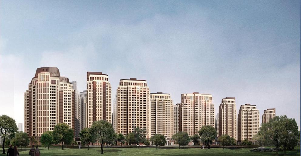 [沈阳]高层新中式风格塔式住宅楼建筑设计方案文本