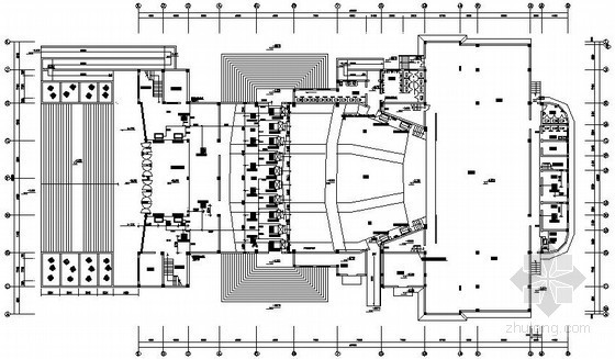 VRV空调装修图资料下载-某剧院VRV空调设计施工图