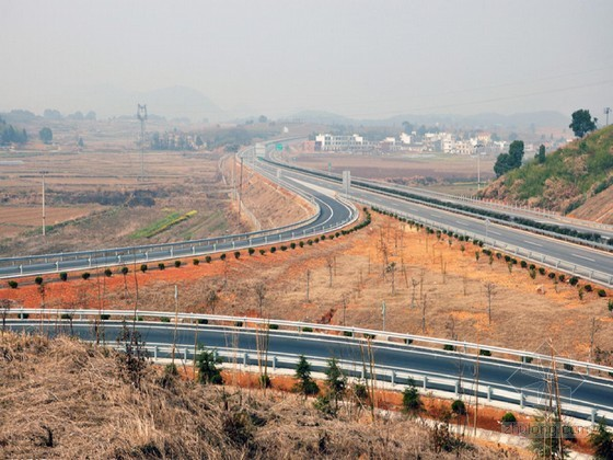 高速公路工程施工总结报告(77页)
