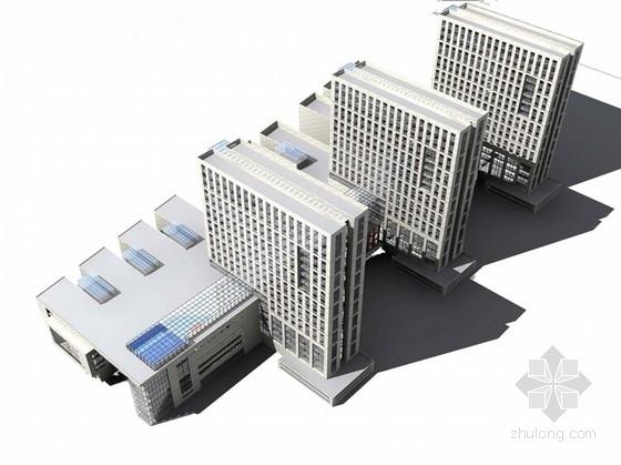 [安徽]现代风格县级人民医院规划设计方案文本(知名设计院)