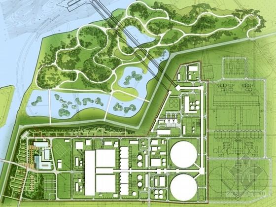 [江苏]生态宜人工业园区景观设计方案文本