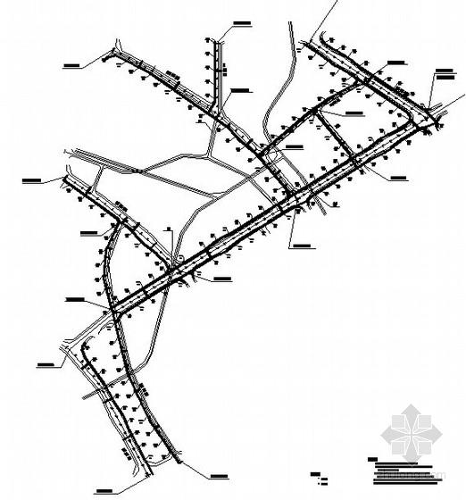 [贵州]市政道路工程施工设计图(全套)