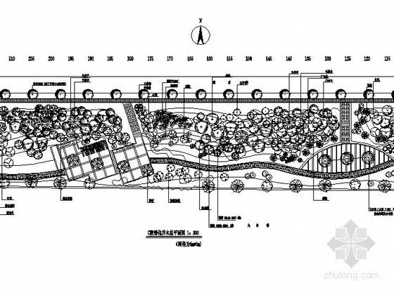 道路街边公园景观工程施工图