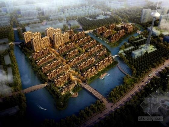 [上海]欧式风格住宅区规划及单体设计方案文本