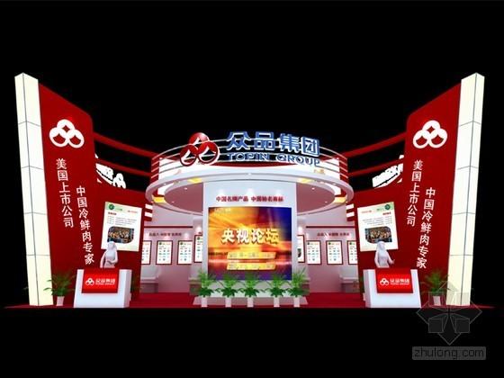 展会展厅特装3D模型下载