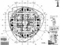 632米巨型框架核心筒外伸臂结构金融大厦结构施工图(CAD、700张)