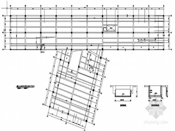 某国际机场改扩建航站楼工程结构图