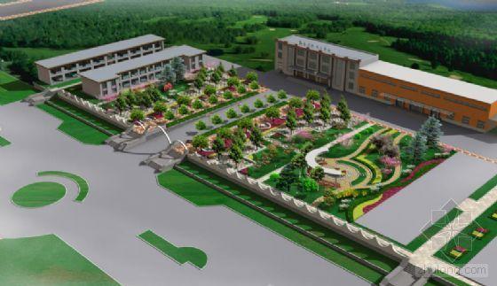 [山东]经贸职业学院环境景观设计效果图
