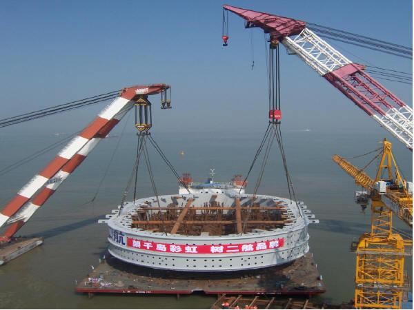 某大桥钢套箱整体安装施工方案